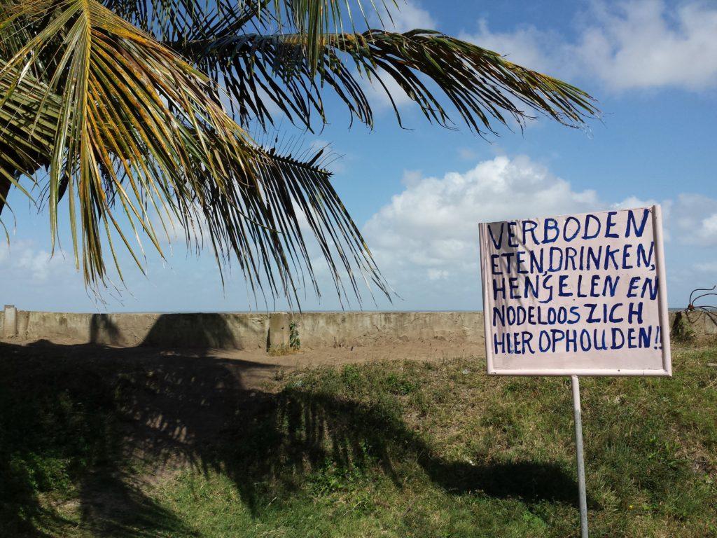 Suriname, opweg naar zee