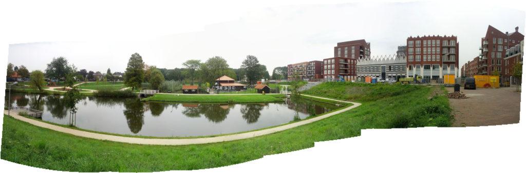 Park en Centrum in aanbouw