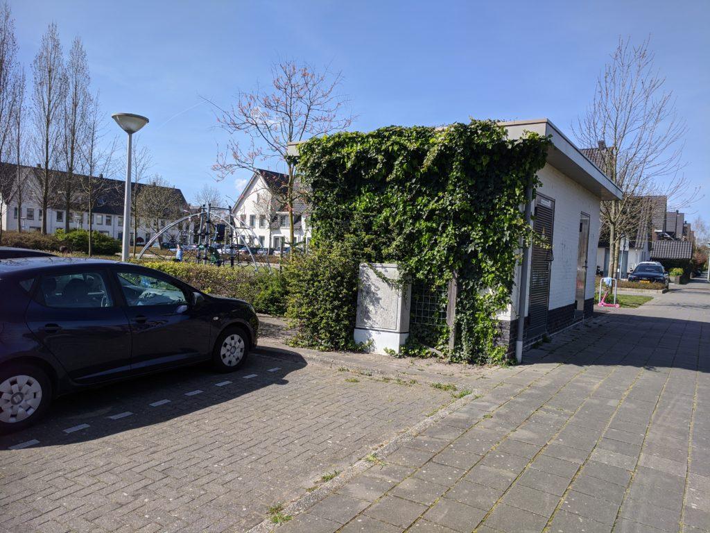Westwijk Zuiswest, een vergroend trafohuis